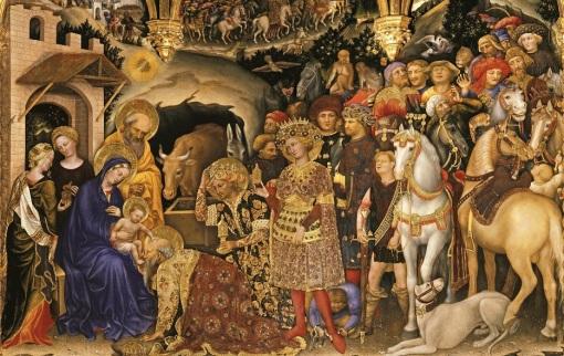 Gentile da Fabriano The adoration of the Magi